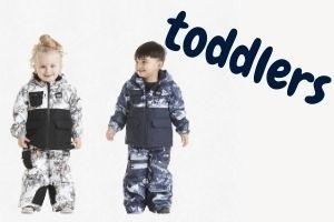 Toddler Ski Jackets & Pants
