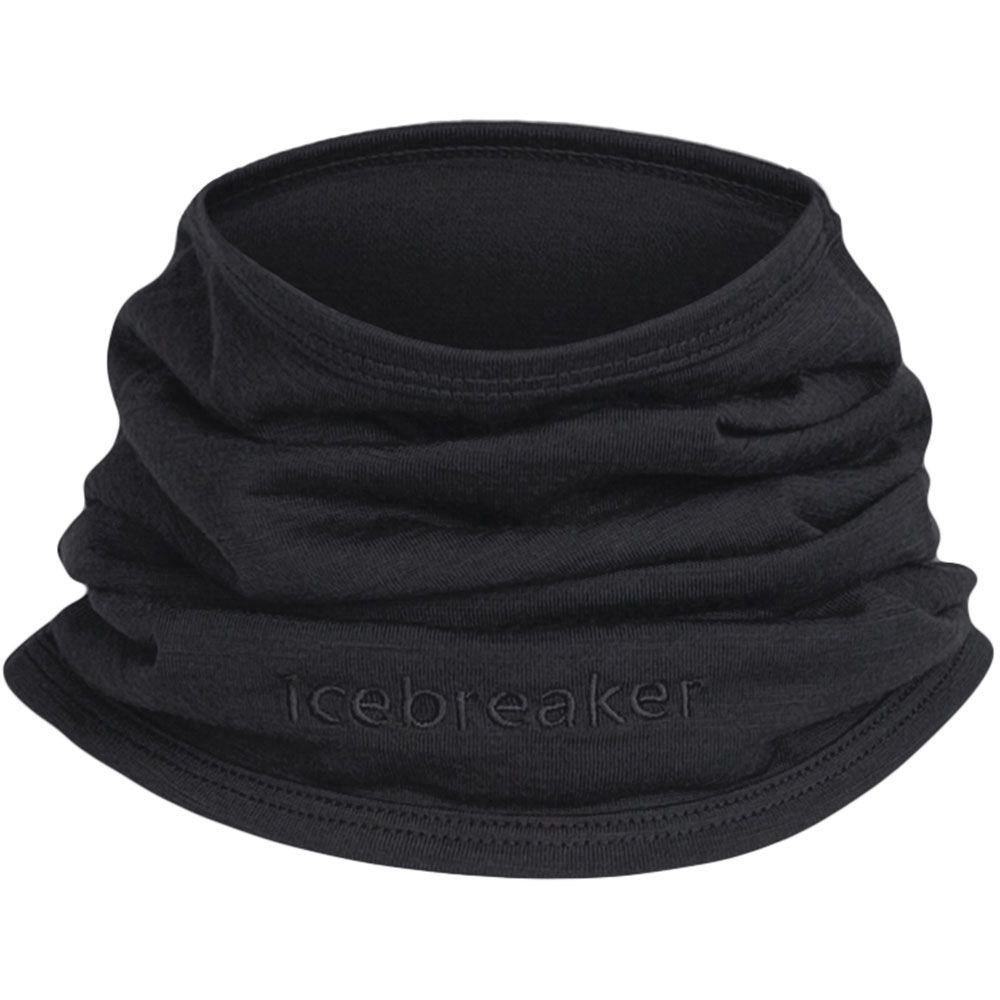 Icebreaker Adult Flexi Chute Neck Warmer - Black OS