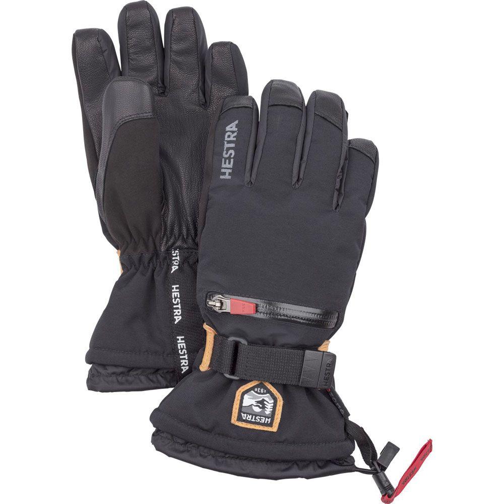 Hestra All Mountain C - Zone Ski Gloves, Black