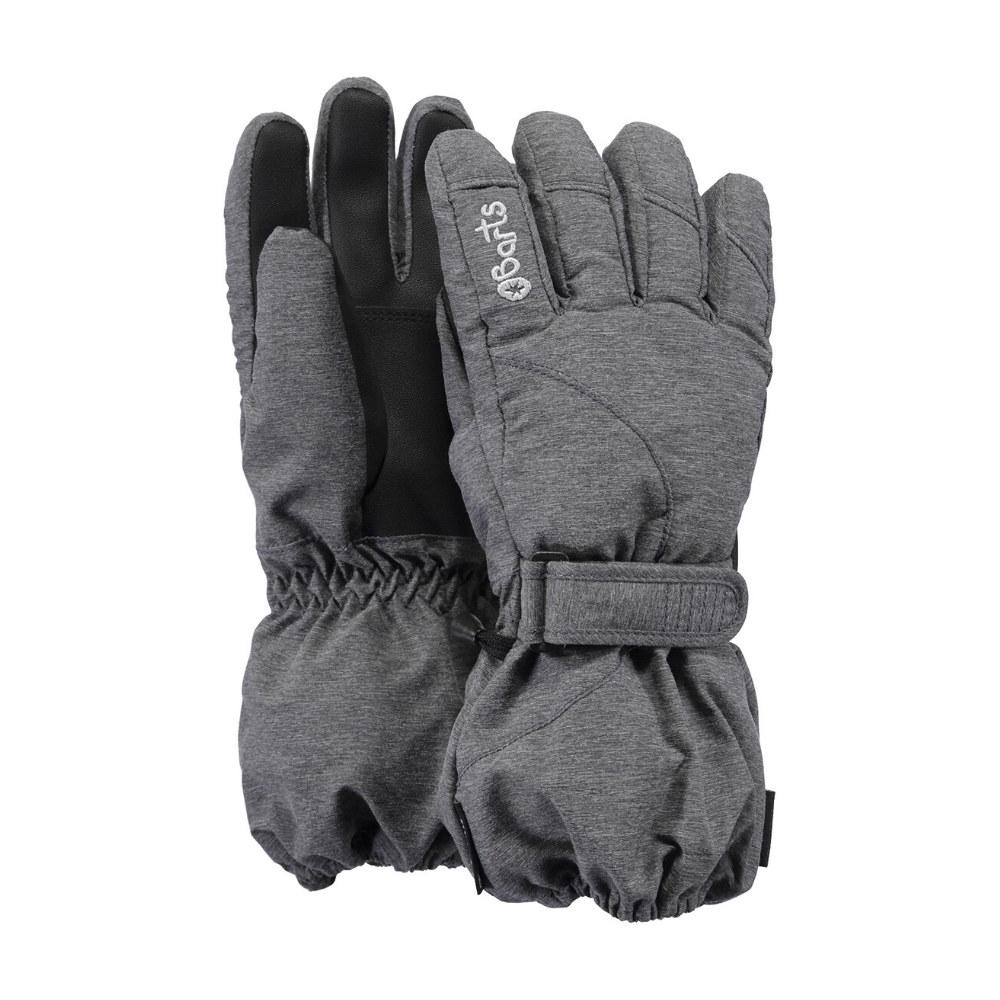 Barts Tec Kids Skiing Gloves, Dark Heather