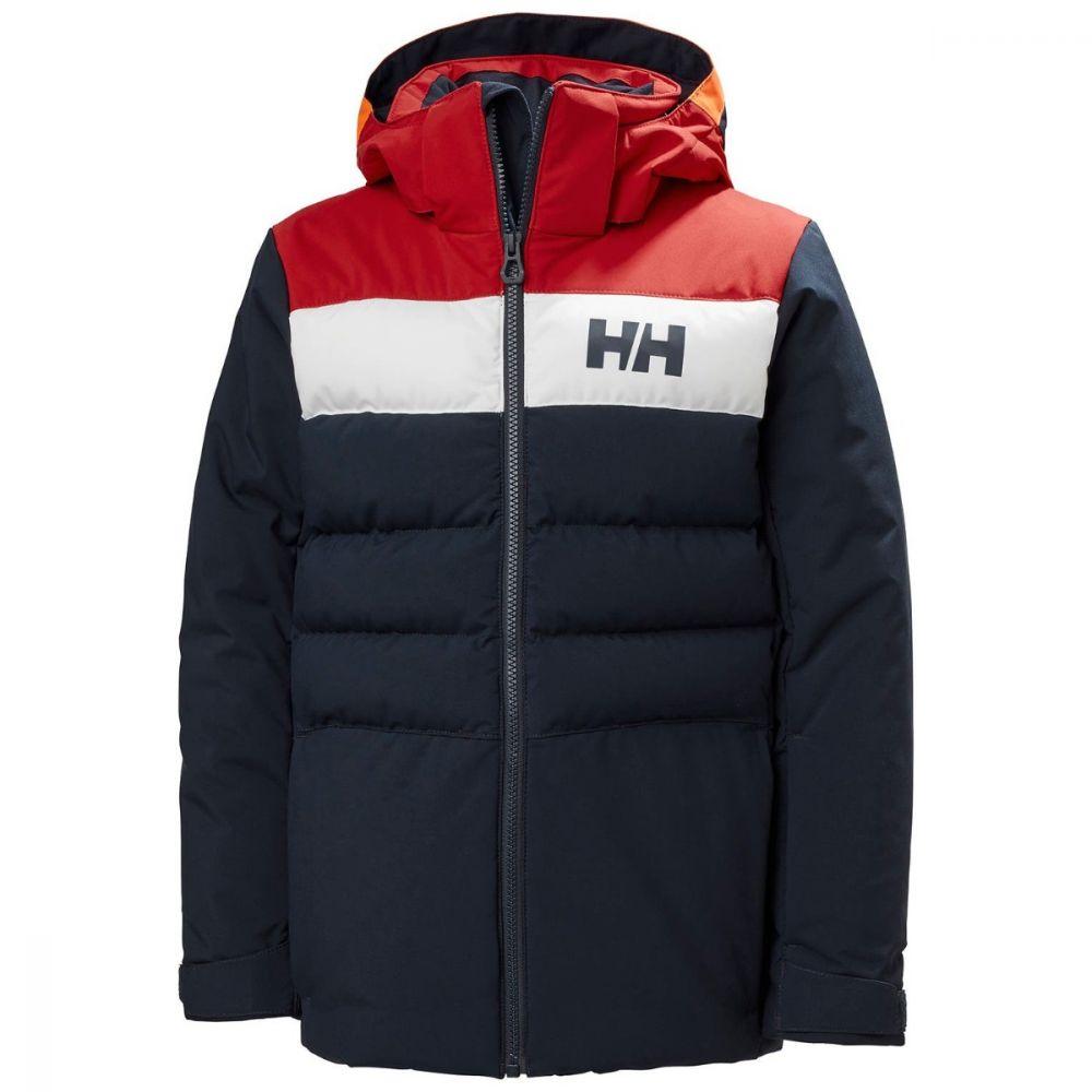 Helly Hansen Youth Boys Cyclone Ski Jacket - Navy