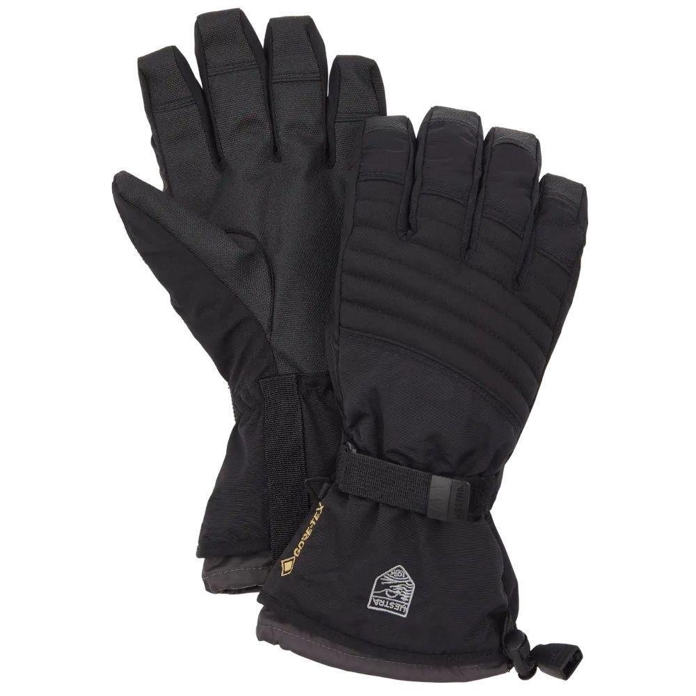 Hestra Gore-Tex Perform Adult Ski Glove Gauntlet, Black