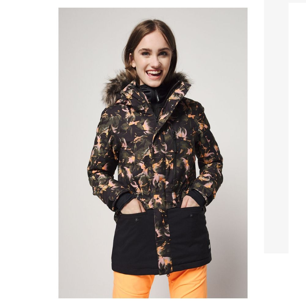 O'Neill Fur Zeolite Jacket BLACK AOP