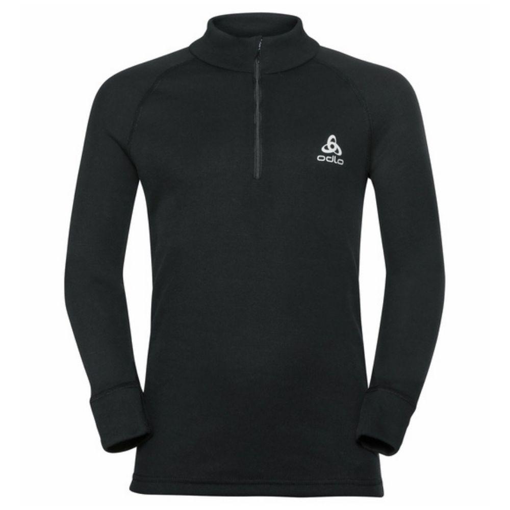 Odlo Active Warm Eco Long Sleeve 1/2 Zip Turtle Neck - Black159249-15000