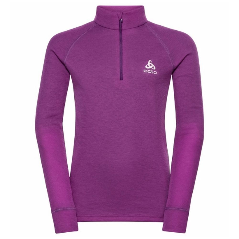 Odlo Active Warm Eco Long Sleeve 1/2 Zip Turtle Neck - Hyacinth Violet 159249-20595