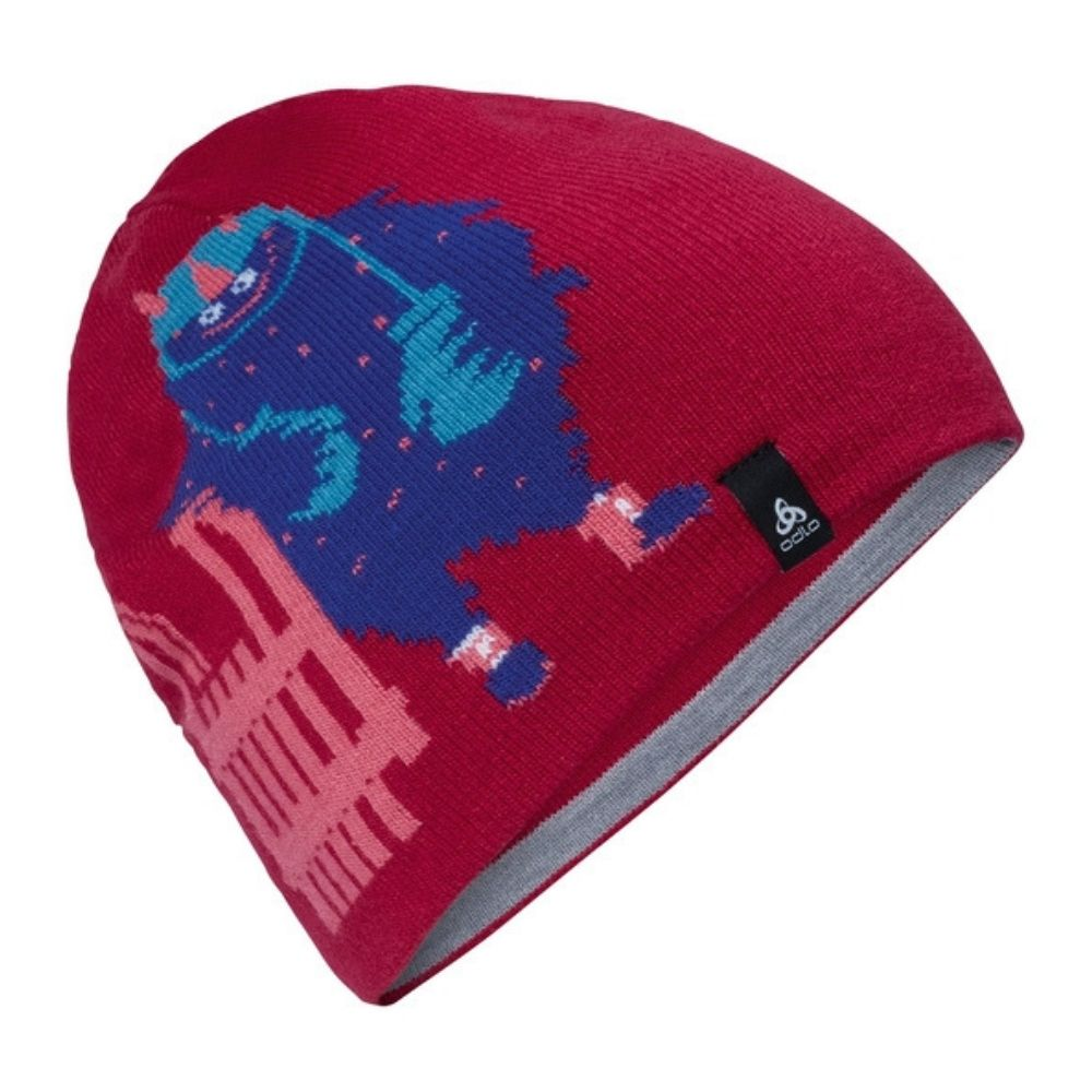 Odlo Hat Kids Mid Gage Reversible Cerise - One Size