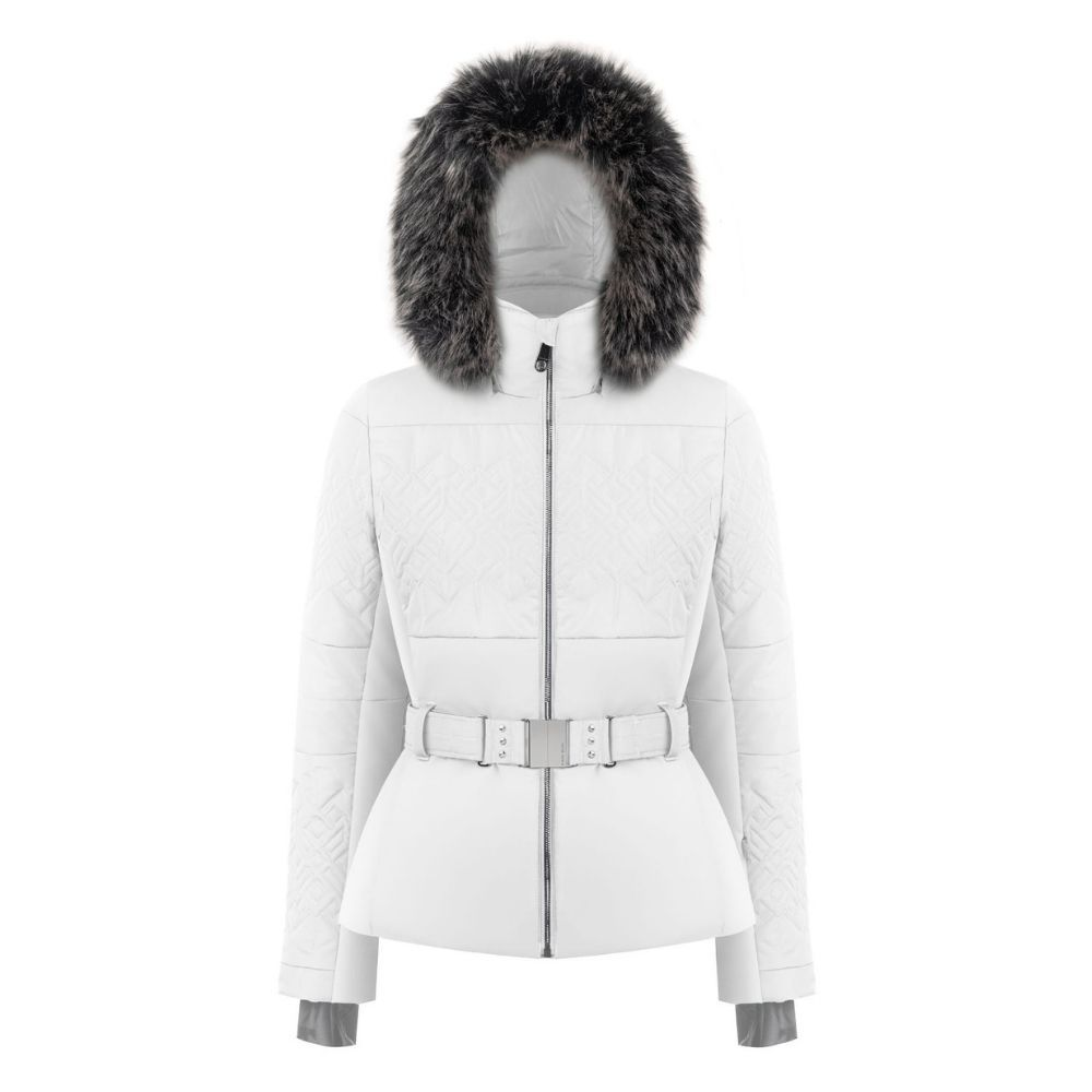 Poivre Blanc Womens Ski Jacket - White
