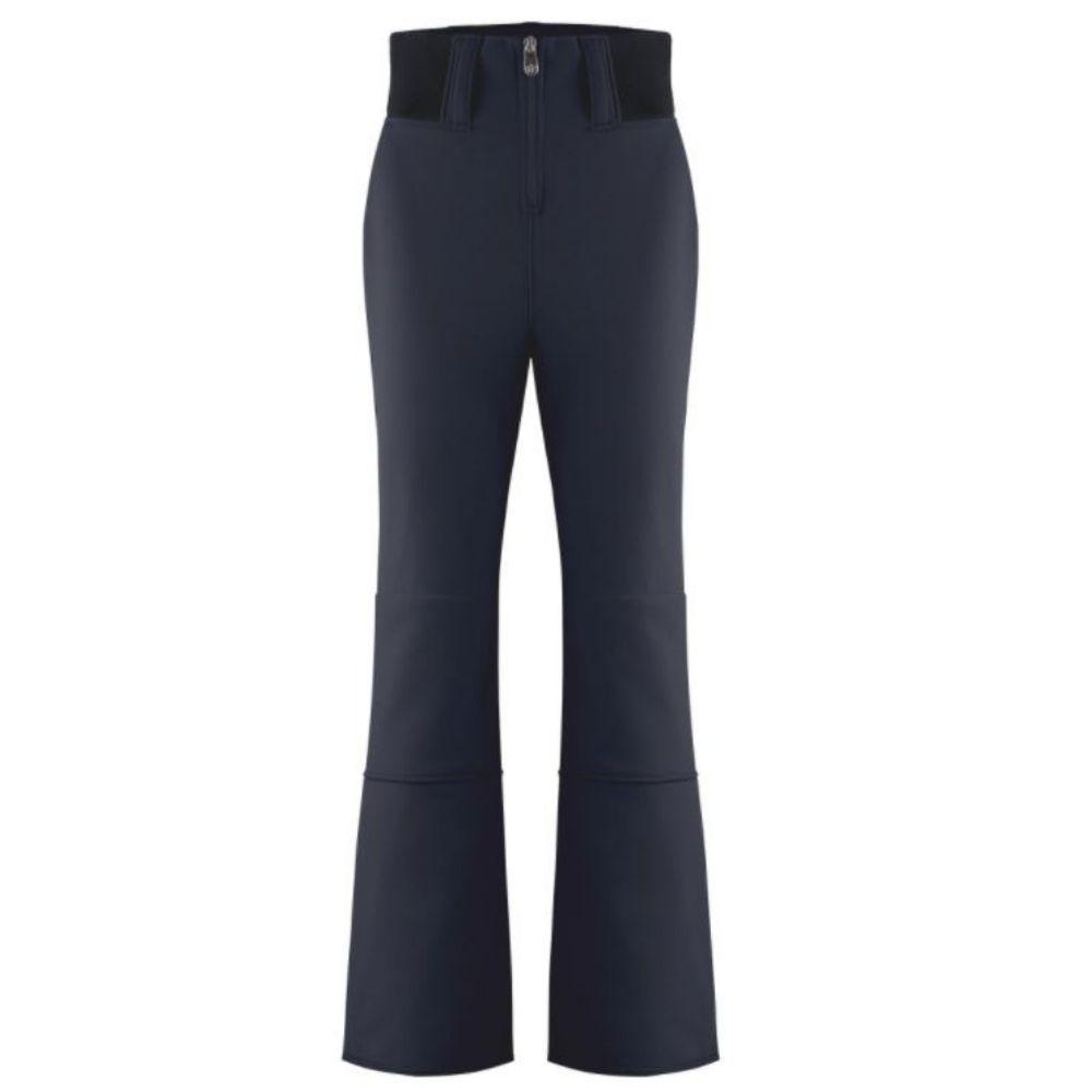 Poivre Blanc Womens Softshell Stretch Slim Ski Pant - Gothic Blue