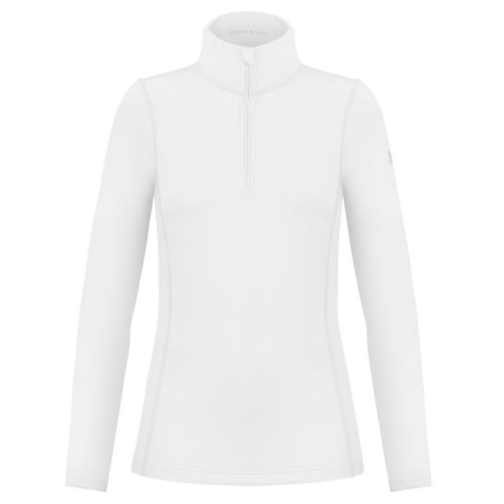 Poivre Blanc Womens Technical Base  Mid Layer White