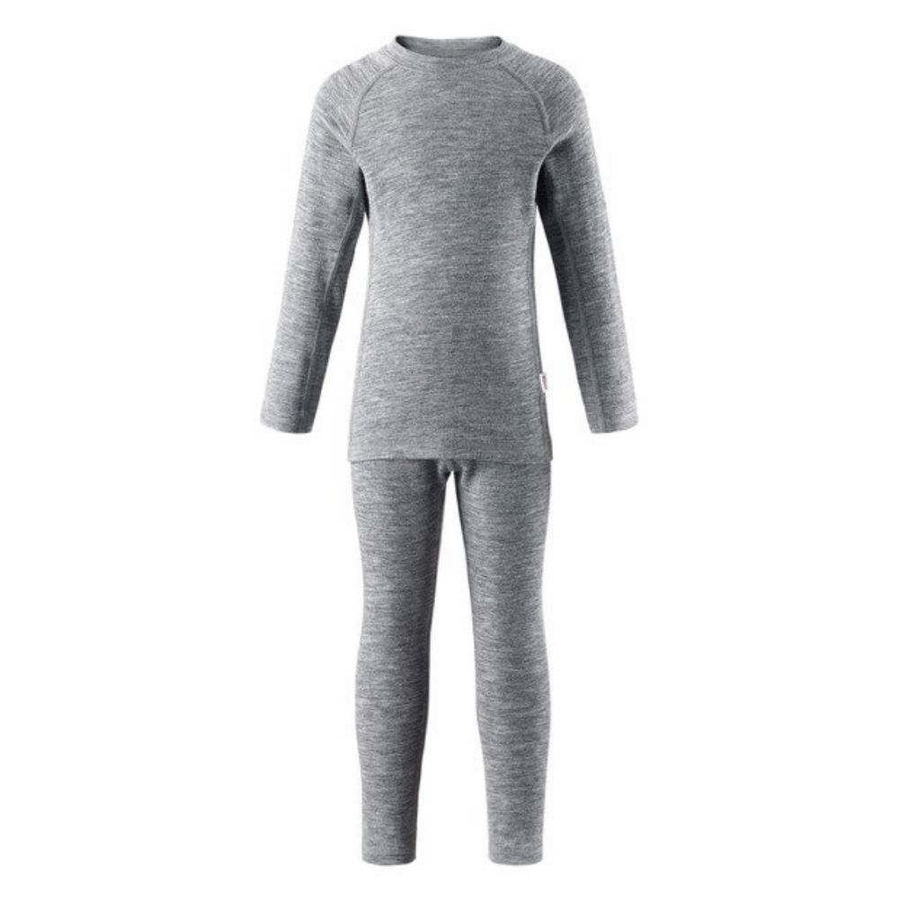 Reima Kinsei Merino Thermal Set - Melange Grey