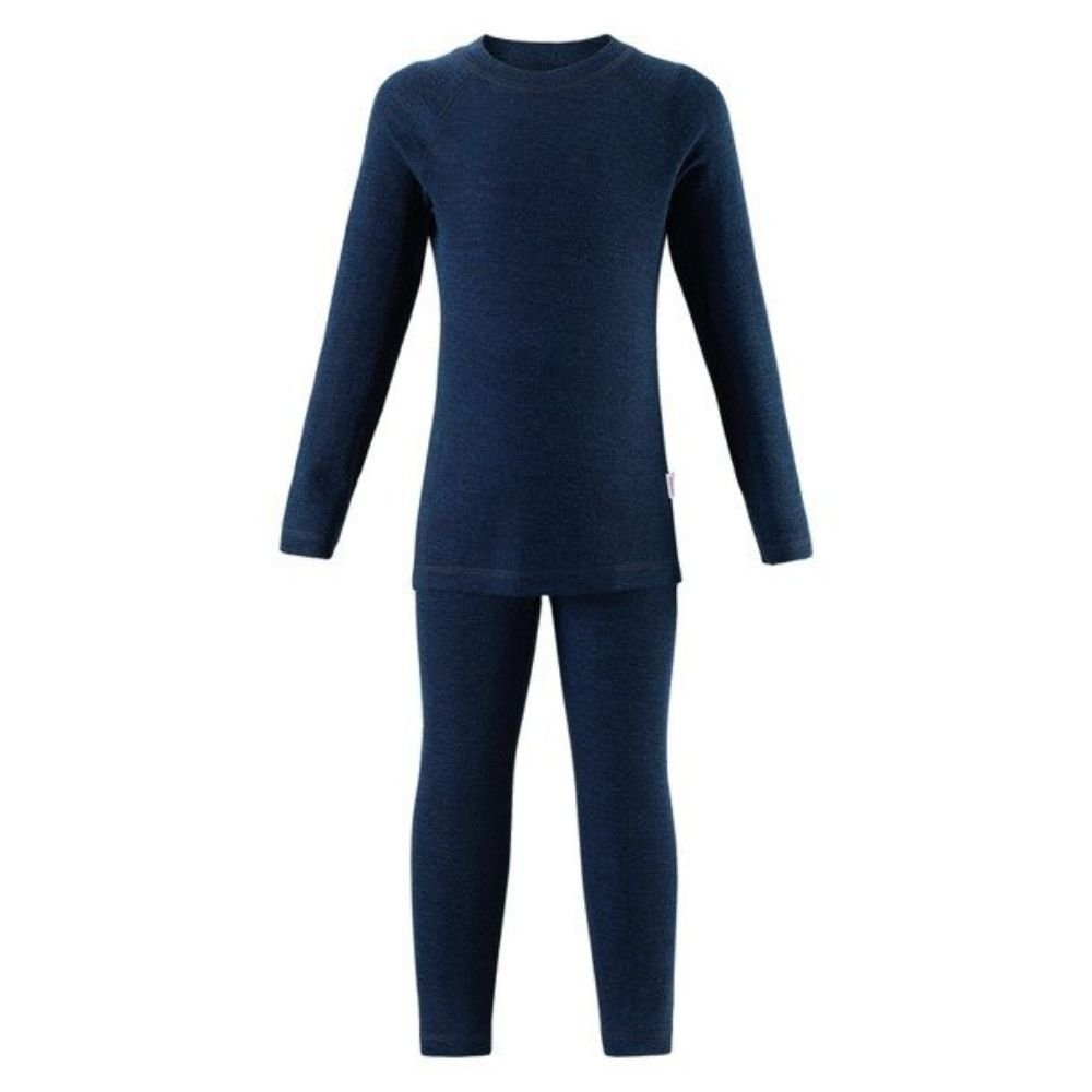 Reima Kinsei Merino Thermal Set - Navy