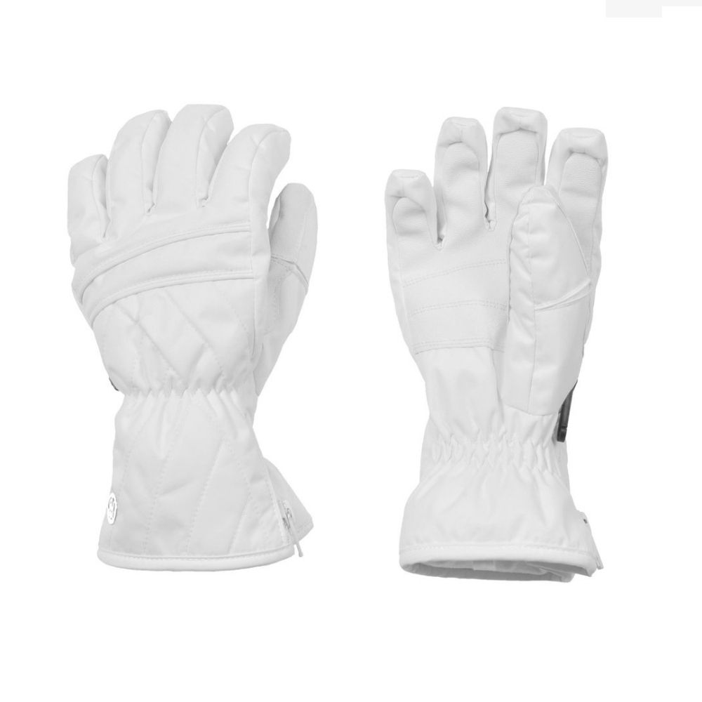 Poivre Blanc Ski Gloves White Age 7-14