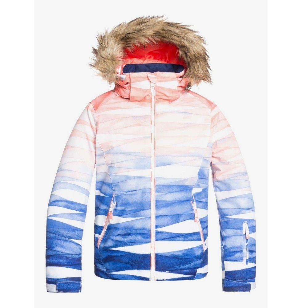 Roxy Jet Ski Girl Snow Jacket Yamada Print - Save 25%