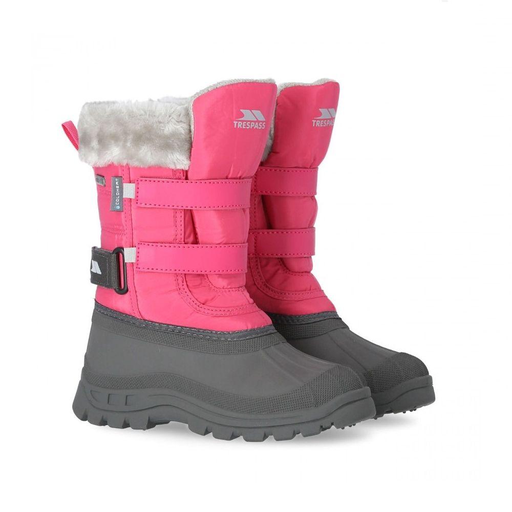 Trespass Stroma II Snow Boots, Pink