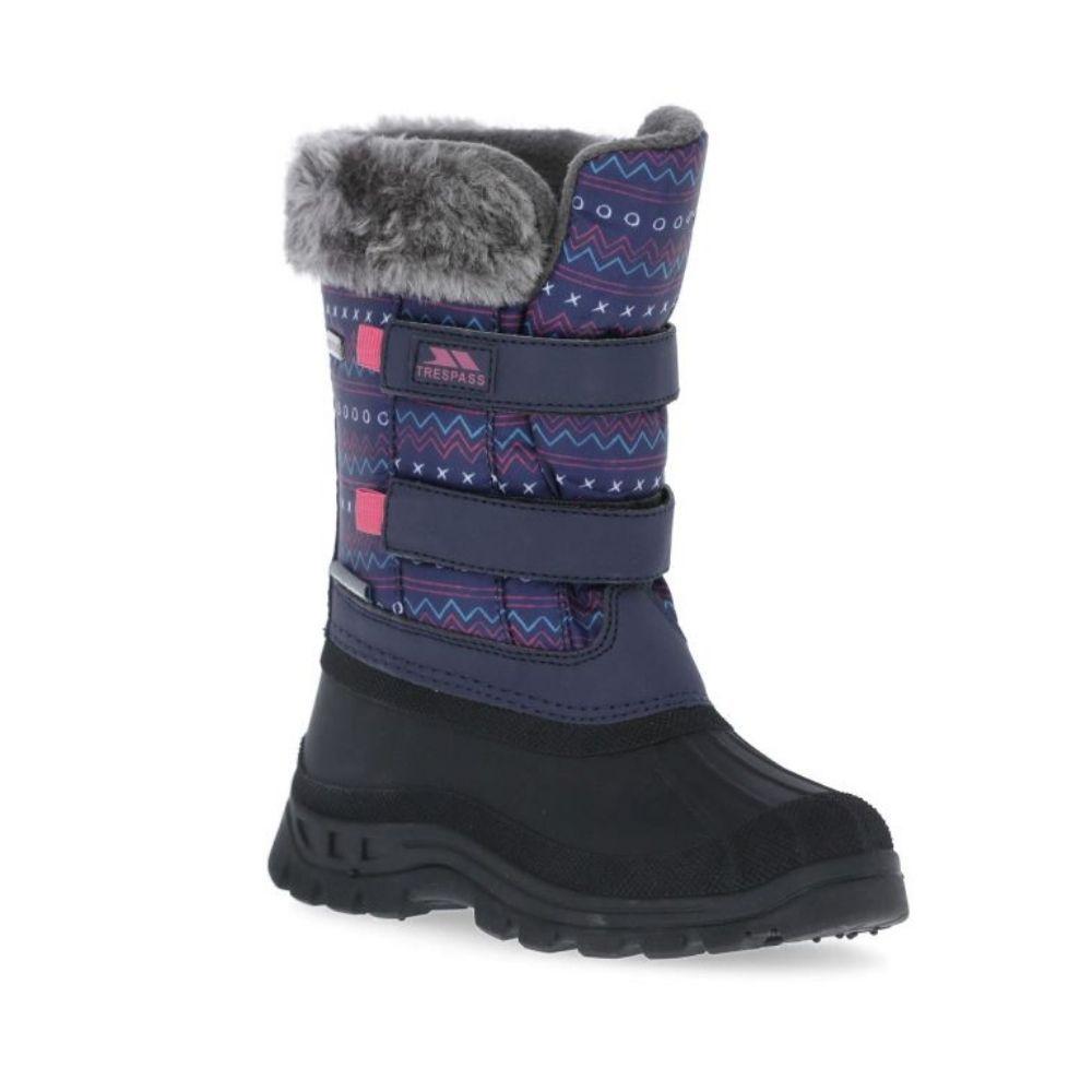 Trespass Vause Girls Snow Boots, Multi