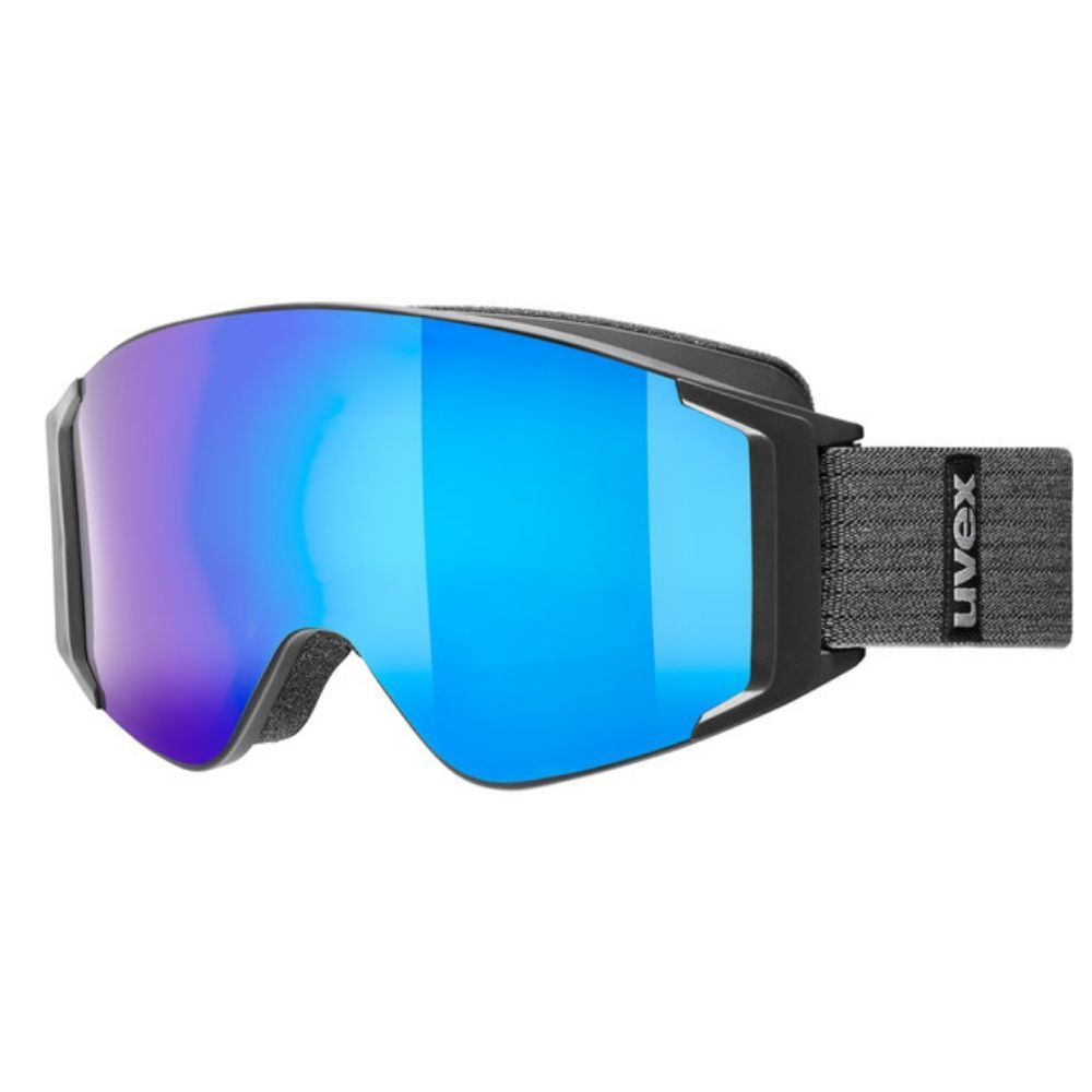 Uvex GL3000 TO ski goggles, mirror blue lens