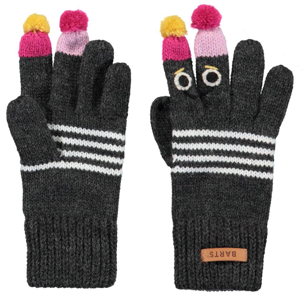 Barts Puppet Gloves - Dark Heather