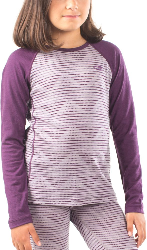 Icebreaker Oasis Thermal Top, Silk Heather - save 40%