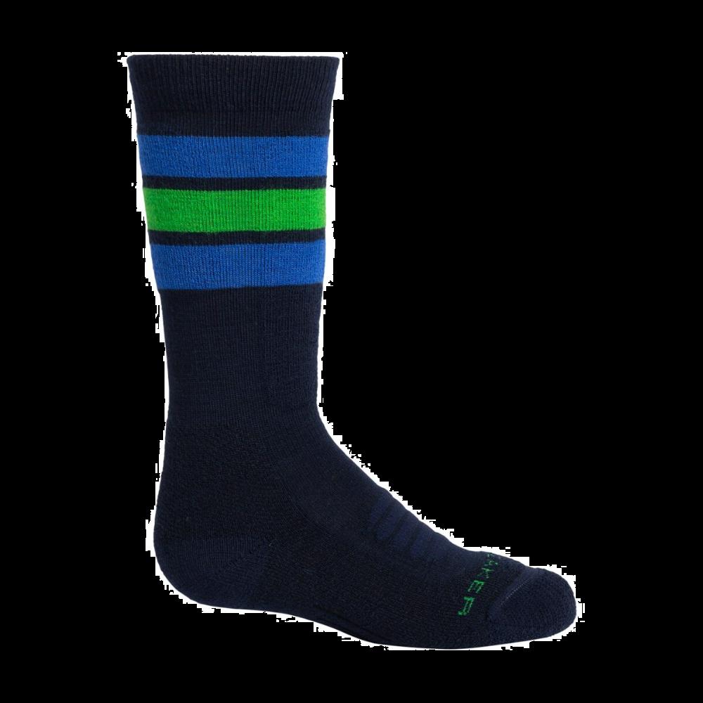 Icebreaker Ski Medium OTC Stripe Socks For Children
