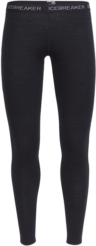 Icebreaker Oasis Bodyfit Womens Thermal Leggings - Black