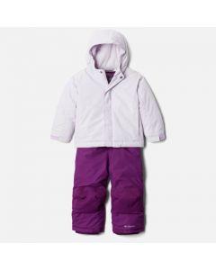 Columbia Buga Ski Jacket & Bib Pants Set - Pale Lilac Sparklers