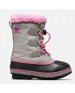 Sorel Childrens Yoot Pac Nylon Snow Boots Chrome Grey