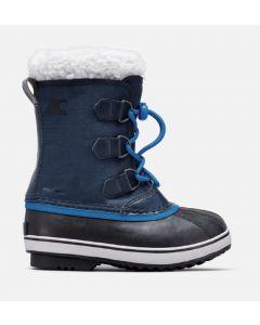 Sorel Childrens Yoot Pac Nylon Snow Boots Collegiate Navy/Super Blue