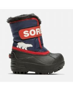 Sorel Snow Commander Kids Snow Boots - Nocturnal / Sail Red
