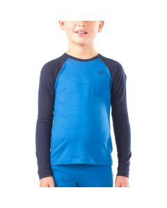 Icebreaker Oasis LS Crewe, Cadet/Navy 1-2 yrs only - save 50%