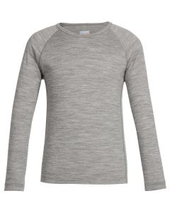 Icebreaker Oasis LS Crewe, Gritstone Heather - save 40%