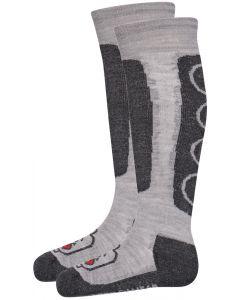 Lego Ayan Ski Socks, Grey Melange