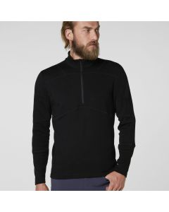 Helly Hansen Mens Lifa Merino Max Top, Black