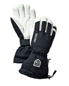 Hestra Army Leather Heli Adult Ski Gloves - Black