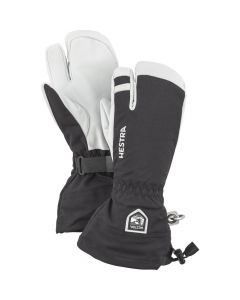 Hestra Adult Army Heli 3 Finger Ski Gloves - Black