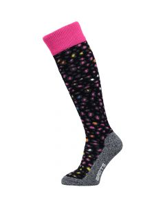 Barts Animal Print Ski Socks, Black (image changed) and barcodes