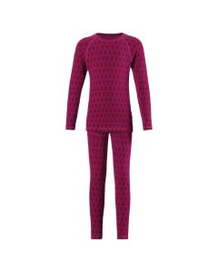 Reima Taival Merino Thermal Set, Cranberry Pink - save 35%
