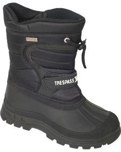 Trespass Dodo Kids Winter Boots, black - UK12 only