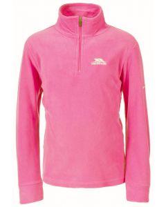 Trespass Louviers Girls Microfleece, Bright Pink 11-12 yrs only
