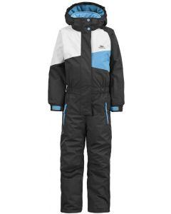 Trespass Wiper Kids Ski Suit, Black