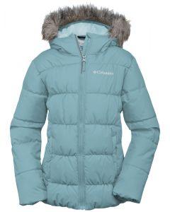 Columbia Gyroslope Girls Ski Jacket, Spray - save 50%