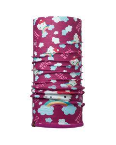Buff Hello Kitty Junior Neckwarmer, Rainbow Purple