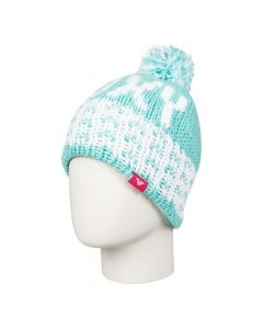 Roxy Fjord Girls Ski Beanie, Blue Radiance Save 50%