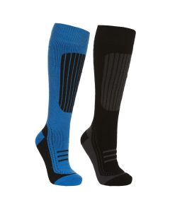 Trespass Langdon II Men's Comfort Ski Socks - Twin Pack