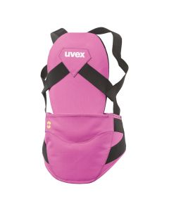 UVEX Junior Pure Back Protector, Pink - save 50%