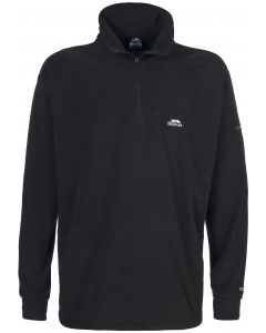 Trespass Mens Masonville Microfleece - black