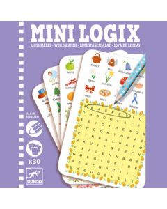 Djeco Mini Logix Word Search
