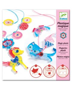 Djeco Magic Plastic the Kitten and the Pony