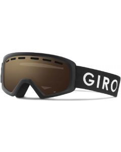 Giro Rev Ski Goggles, Black Zoom - 8 yrs +