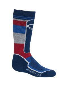 Icebreaker OTC Ski Socks, Largo/Cadet/Rocket
