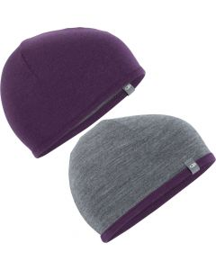 Icebreaker Pocket Hat, Eggplant/Gritstone Heather - save 20%